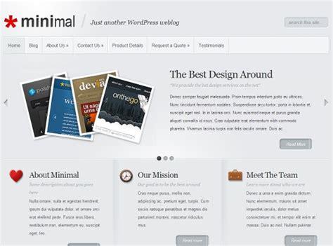 best minimalist wordpress themes minimal templates boa