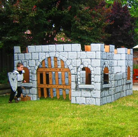 turning cardboard boxes into your child s playhouse