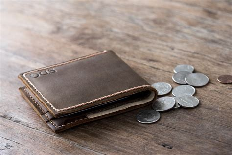 Best Handmade Leather Wallets - leather coin pocket wallet handmade original design by