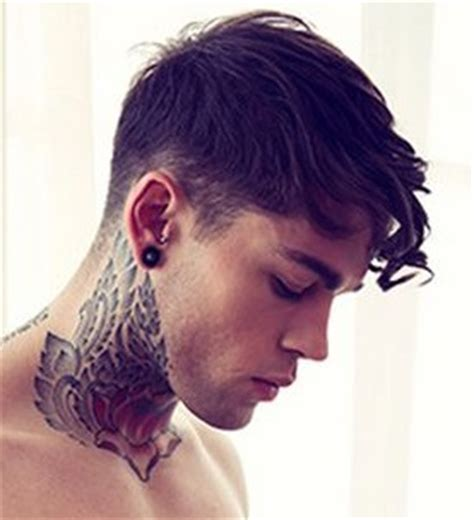 neck tattoo washing hair neck tattoos tattoo insider