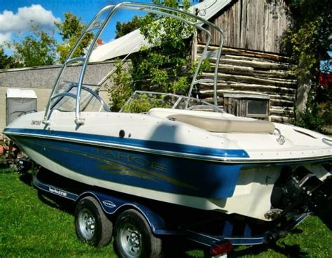 tahoe boats for sale in ontario tahoe 204 2006 used boat for sale in carleton place