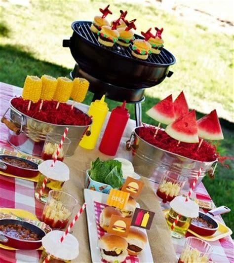 backyard bbq ideas decorations fiestas con encanto ideas para celebrar la comuni 243 n una