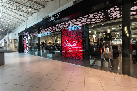 Jersey Gardens Stores by Mccann Systems Century21 The Outlet Collection Led Store Front