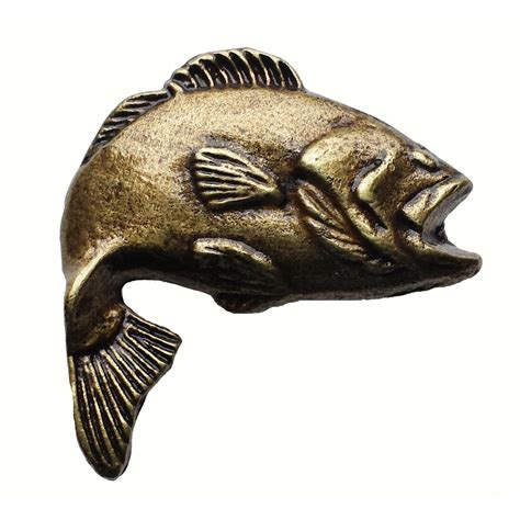 Fish Cabinet Knobs by Bass Fish Cabinet Knob