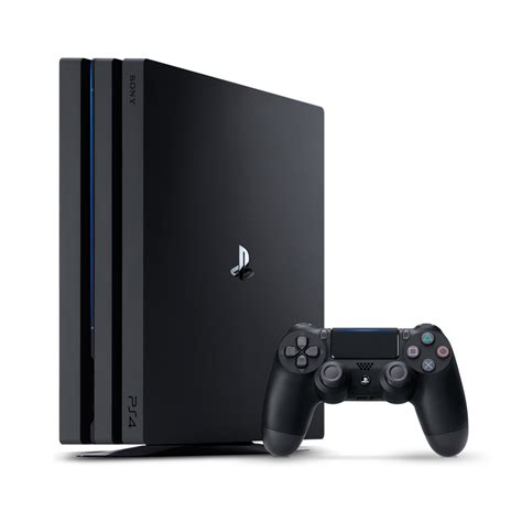 console playstation 4 playstation4 pro 1tb console black