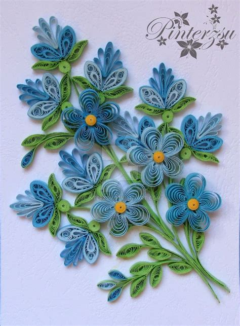paper quilling greeting card tutorial best 25 quilling flowers ideas on pinterest quilling