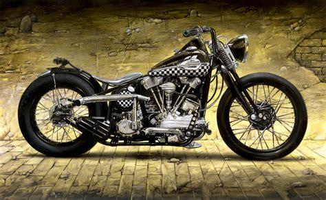 Knucklehead Harley Davidson by Harley Davidson Knucklehead 1946 Andrea Pesco