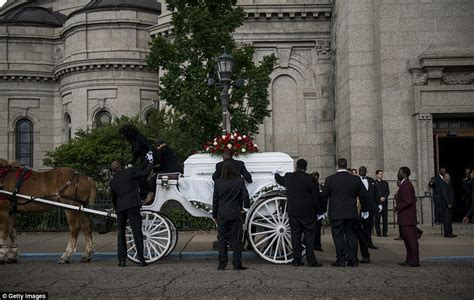 puppy funeral minnesota philando castile s arrives for funeral at minnesota s st paul cathedral daily