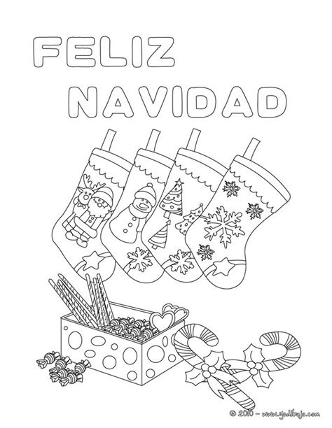 imagenes que ponga merry christmas dibujos para colorear cartel calcetines de navidad es