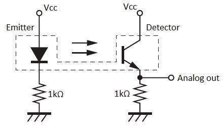 Photo Interrupter Circuit Diagram