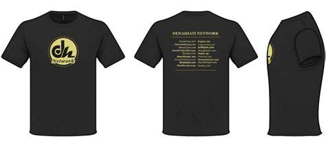 Kaos Network projek t shirt denaihati network