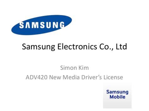 Samsung Electronics America Columbia Mba Linkedin by Samsung Electronics Co