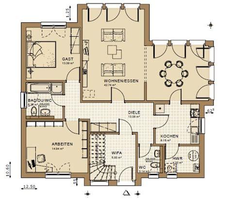 Moderne Grundrisse Einfamilienhaus by Grundriss Einfamilienhaus Modern Emphit
