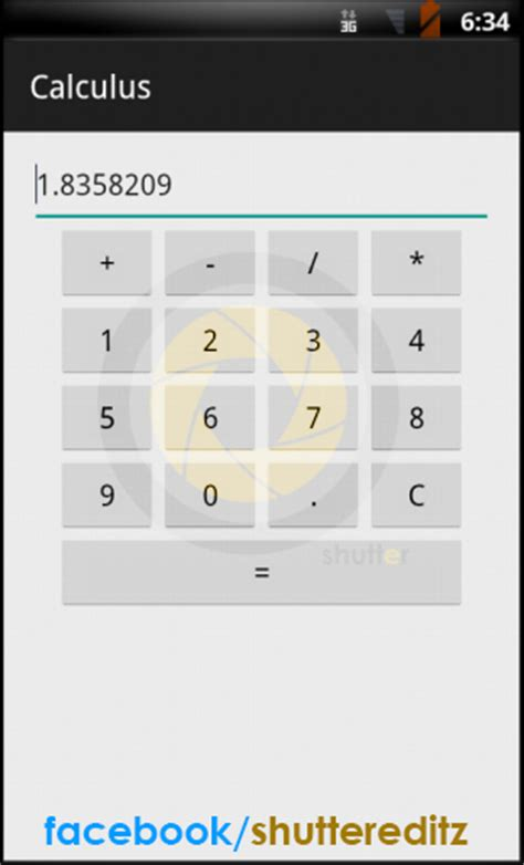 calculator for android creating a calculator app in android studio shutter