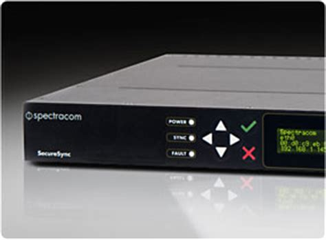 enterprise class gps ntp time server appliance spectracom