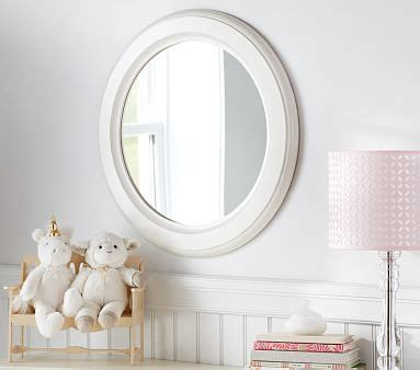 white wood bathroom mirror distressed white wood round mirror pottery barn kids
