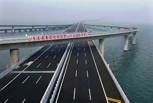 worlds longest sea bridge in china picture gallery
