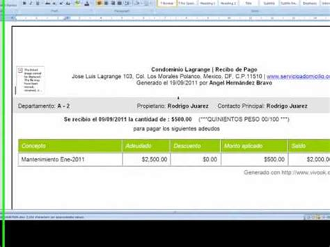 imprimir cupon de pago youtube imprimir o enviar recibos de pago youtube