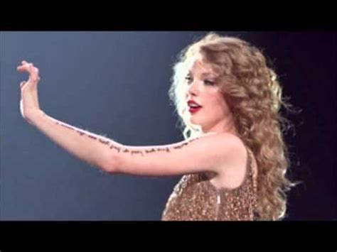 taylor swift tattoo youtube