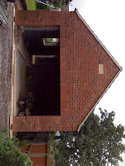 building a double garage with office annex above amn building groundworks