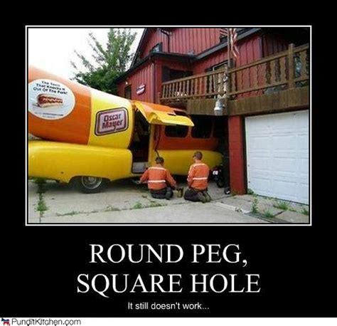 Pegging Meme - square peg round hole 5150 business strategy