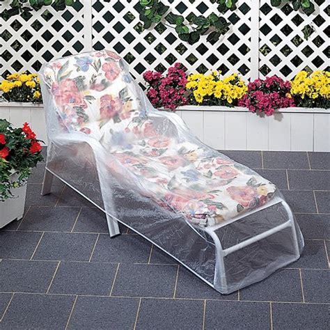 Patio Furniture Protectors by Set Of 2 Outdoor Vinyl Clear Lounge Chaise Chair Furniture