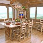 aspen dining room table cabin stuff pinterest rustic aspen log dining room furniture log cabin rustics