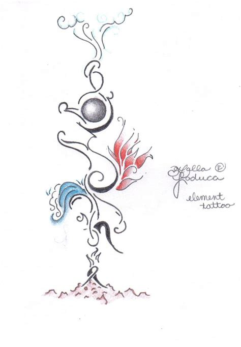 elemental tattoo designs 5 elements www imgkid the image kid has it
