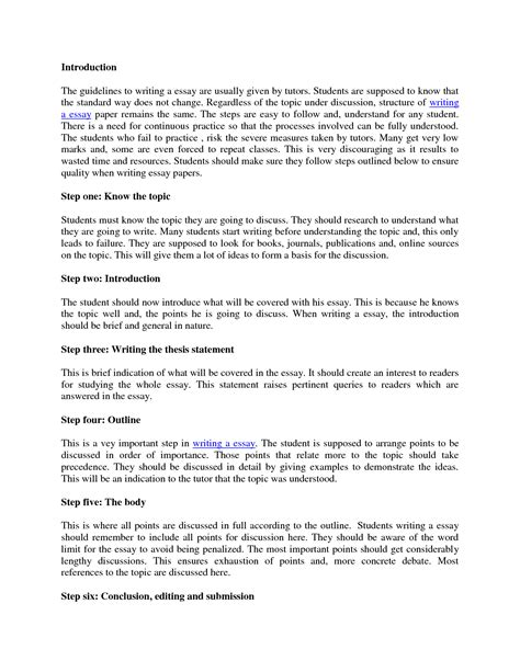 cover letter example of essay introduction an example of an