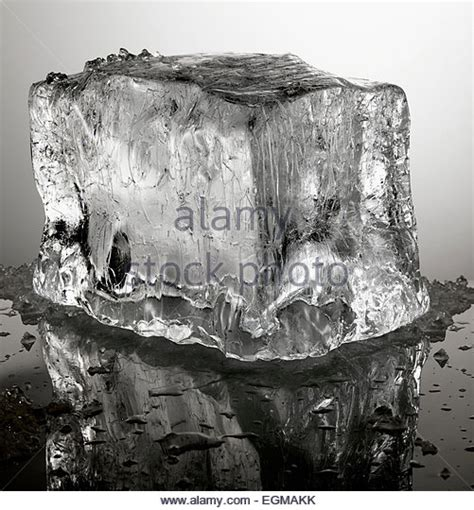 Block L Appears To Be A Melting Cube by Melting Cube Stock Photos Melting Cube Stock