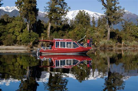 glacier boat tours franz josef glacier boat tours cruise lake mapourika