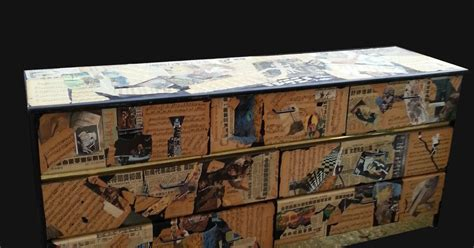 Decoupage Furniture For Sale - uhuru furniture collectibles decoupage dresser sold