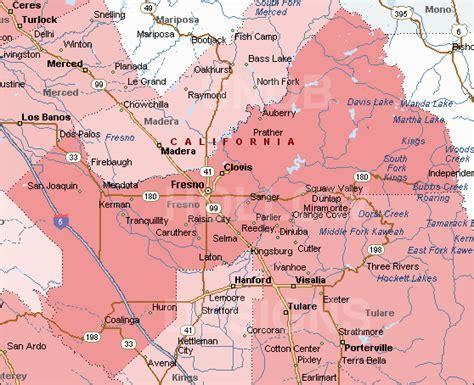 california map fresno fresno map toursmaps