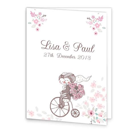 mass booklets templates for weddings smitten couple wedding mass booklet cover loving invitations