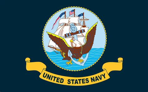 us navy colors file flag of the united states navy svg