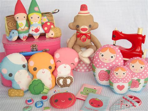 Handmade Soft Toys Free Patterns - sew cut and sew soft patterns toys xcuz me