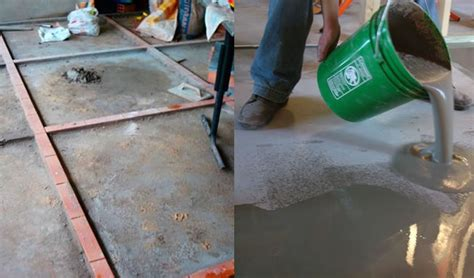 piso queimado colorido piso de cimento queimado deixe sua casa moderna