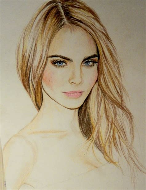 sketchbook cara drawing cara delevingne savanier