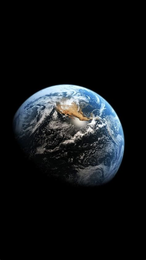 Earth Portrait Wallpaper | earth space planet portrait display hd wallpapers
