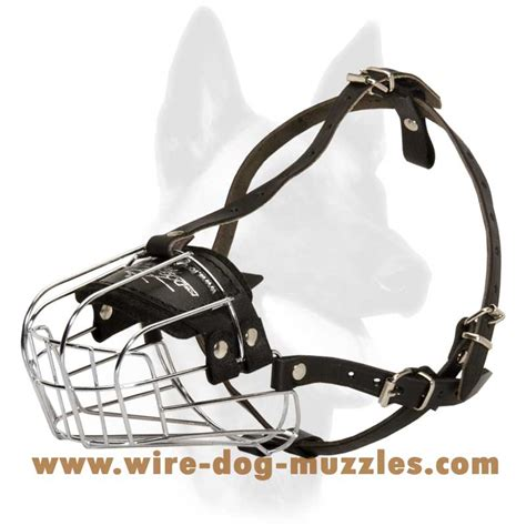 muzzles for dogs medium wire basket muzzle for medium sized breeds m4 1038 medium wire