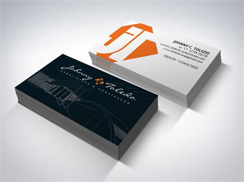 Architectural Business Cards | 35 architect business card designs for inspiration