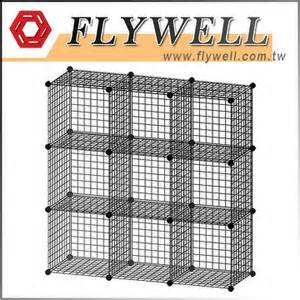 grid wire modular shelving and storage cubes flywell international corp