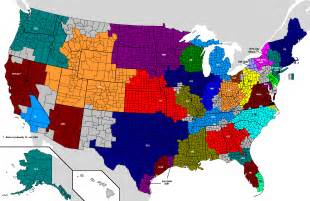 Nfl Team Map Of The United States by Nfl Tv Market Map 1513 X 983 Mapporn