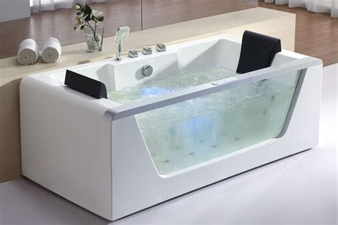 Stand Alone Whirlpool Tub Freestanding Bathtubs With Whirlpool Reversadermcream
