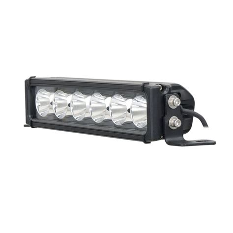 12 In Led Light Bar 12 Inch Single Row 60w Spot Beam Led Light Bar Offroad Osleder Lighting Led Lighting