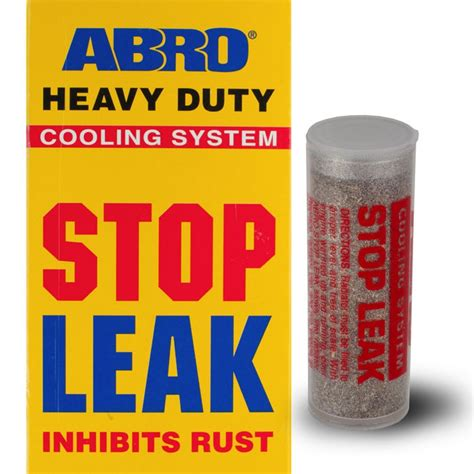 how to stop a from leaking stop leak powder