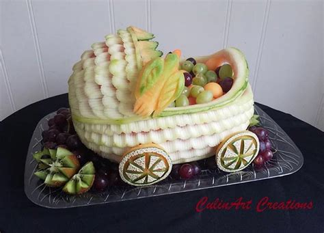 Baby Shower Fruit Carving by 21 And Creative Baby Shower Ideas For Stayglam
