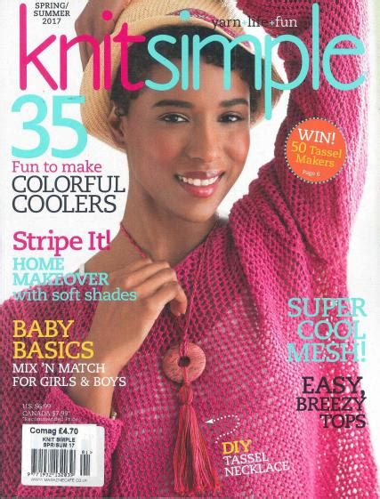 knit magazine knit simple magazine subscription