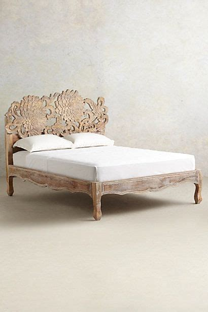 anthropologie bed frame handcarved lotus bed lotus beds and anthropologie