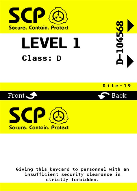 key card scp template 17 00 welcome to the scp foundation you ve been